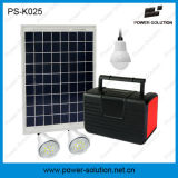 Домашний вентилятор применения 12V солнечный с 10W панелью солнечных батарей 3PCS СИД освещает набор