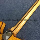 Kits de guitarra BRICOLAGE TL / Tl guitarra eléctrica / Chama Maple Top Tele guitarra eléctrica (GF-36)