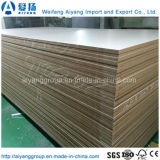 MDF da melamina do lustro elevado & madeira brancos da madeira para a construção