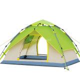 Tipo uomo del cappello di 3-4 idraulico per aprire la tenda di campeggio automatica, tenda di campeggio delle 4 persone