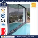 Portes coulissantes d'aluminium de double vitrage (SL-7790)