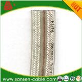 Cable doble cable de PVC transparente del Cable eléctrico