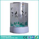 Cabina de ducha de vidrio templado (LTS-825K)