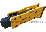 La tige du marteau hydraulique de l'excavateur 75mm brise roche 6.0-9.0 tonnes Prix pour la machine