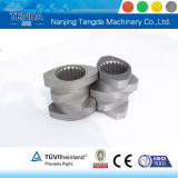Barril tornillo universal para la extrusora de doble husillo