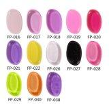 Feuilleté facial de silicones d'éponge de silicones de couleur de Multy pour la crème