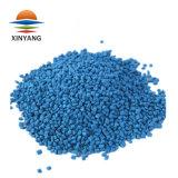 Masterbatch de color azul para hilados de polipropileno