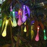 Luz solar impermeable al aire libre de la cuerda de la luz de la Navidad de la energía solar LED