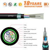 Tubo suelto trenzado blindado Cable de fibra óptica GYTY53