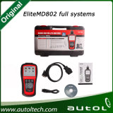 가득 차있는 시스템 (MD701+MD702+MD703+MD704) Md 802를 위한 Autel 본래 Maxidiag 엘리트 Md802 모든 시스템 스캐너