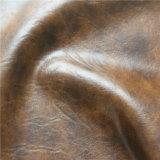 Qualidade superior de alta resistência a abrasão impermeável PU couro de PVC para o sofá