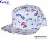 100% algodão Logotipo Patch Snapback Cap Hat Fornecedor