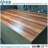 El papel de melamina de grano de madera MDF enfrenta muebles interiores