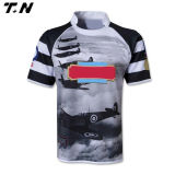 2016 Form-Großhandelsvöllig sublimiertes Rugby-Hemd