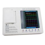Ce- Certificaat 3 Machine ekg-903A3 van de Elektrocardiograaf ECG van het Kanaal de Digitale met de Software van de Analyse -- Martin