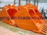 Partes de máquinas de terraplenagem miniescavadora balde pesado de inclinação da caçamba