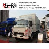 HOWO 4X 2160 HP 8~10 Ton Small Cargo Van Box Truck