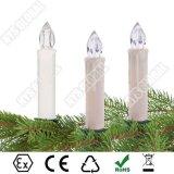 Draadloze Elektronische LEIDENE van de Kerstboom van de Afstandsbediening Kaars