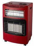 Gas/riscaldatore elettrico con il bruciatore di ceramica del motore di ventilatore