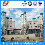 Móvil Transportador de correa fija mixta de hormigón de cemento el procesamiento por lotes/mezcla/Planta mezcladora