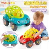 Carro do chocalho & do rolo, cores Assorted para o bebê
