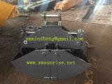 Cubeta da máquina escavadora, cubeta de escavação, garra para o equipamento pesado da maquinaria de construção