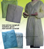 Coverall Ly Nonwoven устранимый Microporous