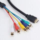 Comunicación de datos Cable HDMI AV con ferrita neto (pH6-1209)