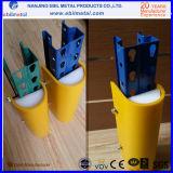 Colonne en plastique / protection verticale / protecteur pour système de stockage