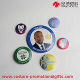 Moderne Art-Form-kundenspezifisches preiswertes Plastikförderung-Tasten-Abzeichen
