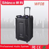 Shinco Chariot de karaoké Bluetooth sans fil professionnel extérieur 8''hifi à l'Orateur