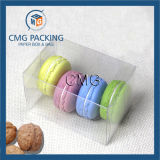 De transparante Plastic Doos van de Verpakking Macarons (cmg-pvc-029)