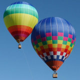 Het sightseeing van de Ballon van de Hete Lucht voor Persoon, Zeppeline