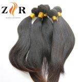 Venta al por mayor natural del pelo humano de la onda de la Virgen brasileña del pelo de la calidad