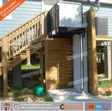 옥외 수직 층계 무능한 상승 플래트홈 가격을%s 전기 유압 휠체어 승강기