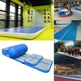 Tapis de salle de gym de piste de l'air, de l'air gonflable Tumble Piste, voie d'air gonflable, gonflable Tapis de Yoga, tapis de salle de gym gonflable