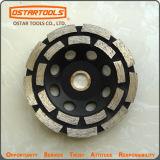 Сегментированные Двухрядным наружное кольцо подшипника колеса Diamond вогнутую шлифовального круга