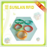 Manchet de van uitstekende kwaliteit van het Silicone RFID met de Spaander van HF