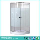 El precio barato al por mayor de cuarto de baño personalizadas puerta de cristal simple ducha (LTS-825)