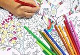 중국 공장 서류상 인쇄 서비스 아이들 색칠하기 책