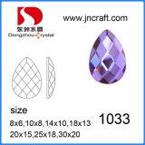 China Wholesale sin plomo caída posterior plana de corte de la máquina de Piedra de Cristal para accesorios de prendas de vestir