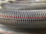 A ELECTRICIDADE ESTÁTICA PVC trançado de fibras e fios de aço do tubo de borracha reforçado composto