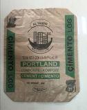 Baixo saco tecido PP do cimento da válvula do preço