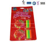 Velas decorativas populares de la forma cónica de Colorized del precio competitivo para la fiesta de cumpleaños