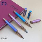 Aangepast graveer Vulpen van het Metaal van de Pen van het Metaal van het Embleem en Pen de de Van uitstekende kwaliteit van de Rol