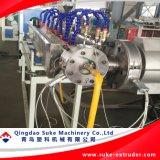 Производственная линия экструзии труб шланга PVC усиленная волокном