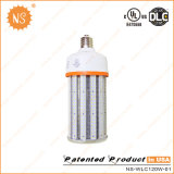 los altos lúmenes 120W 5 años de la garantía de la UL del poste de la tapa LED de luces de calle enumeradas Dlc substituyen la lámpara de Nav