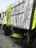 Dongfeng 4X2 Plasterungs-Absaugung-Fahrzeug9 Cbm-Vakuumstraßen-Kehrmaschine-LKW