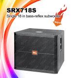 Srx718s 18 de Doos van de Spreker van Subwoofer van het Neodymium ''