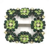 아름다운 포도 수확 모조 다이아몬드 또는 구슬 단화 클립 버클